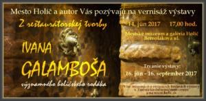 Galamboš pozvánka