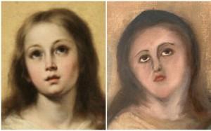 Bartolomé Esteban Murillo : Panna Mária, súkromná zbierka