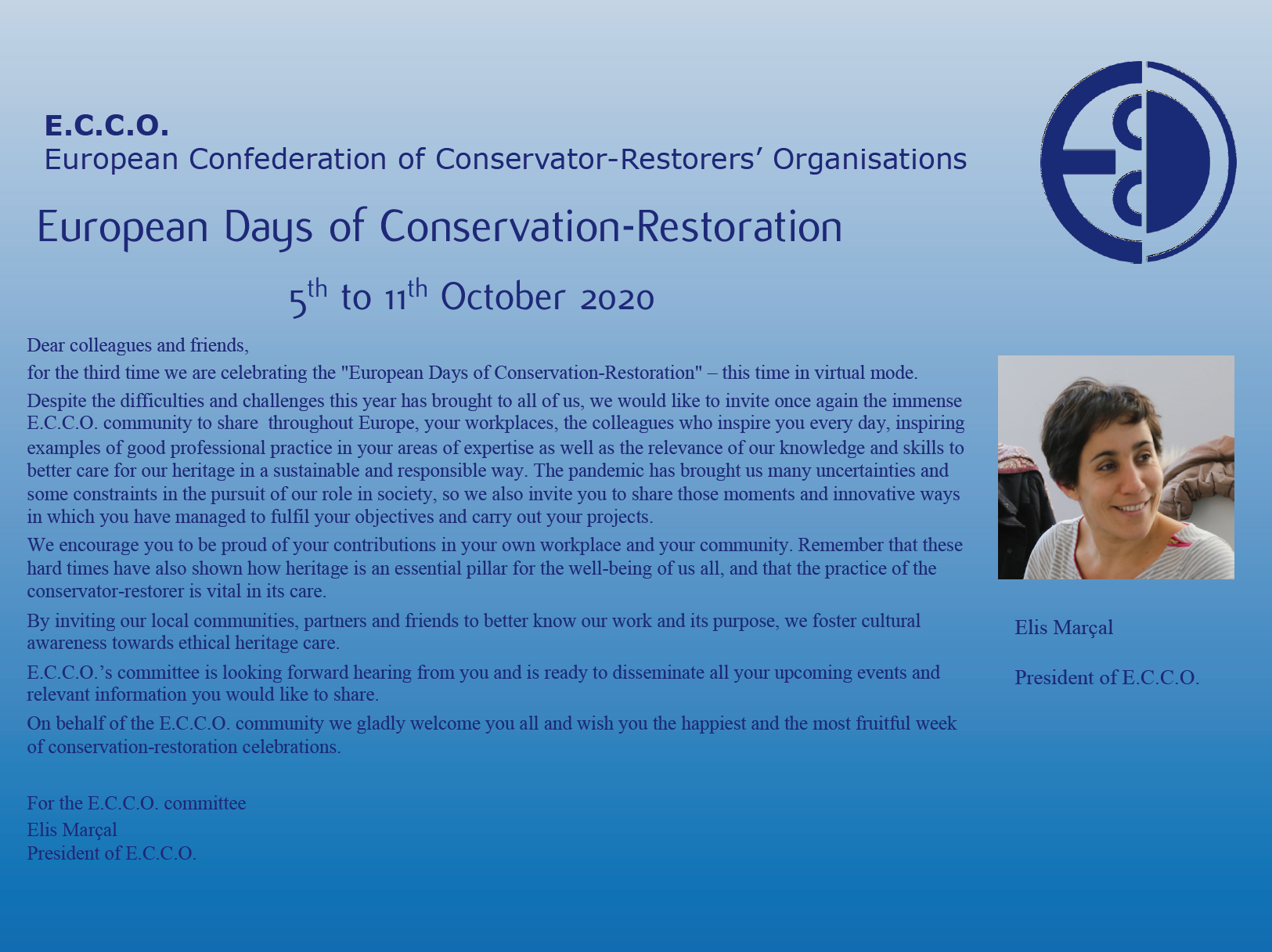 Európske dni konzervovania a reštaurovania 2020